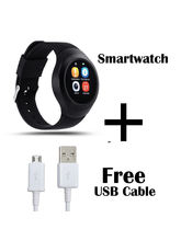 Hamee Chromtech SmartWatch With Free Micro USB Fast Charging Cable (821-smart019-24)