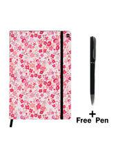 Hamee Premium Leather Notebook Hardbound Classic Cover Notebook (19apen9153)