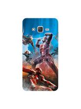 Hamee Marvel Licensed Civil War Hard Back Case Cover for Samsung Galaxy J7 2016 Design 10 (8000-infibeam155)