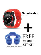 Hamee Sportitech Smartwatch With Sim Free Ok Stand / Mobile Stand Or Mobile Holder (821-smart019-21)