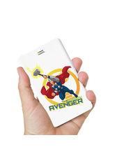 Hamee Marvel Licensed Avengers 10000 mAh PowerBank (Thor / Mighty) (831-Power258), multicolor