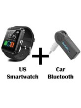 Hamee Go Tech Smart Watch U8 Bluetooth Silicone Wristband (1-smartwatch09c3)