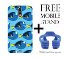 Hamee Disney Pixar Finding Dory Licensed Hard Back Case Cover For Xiaomi Redmi Note 4 Cover with Free Mobile Stand - Combo 4 (8000-infibeam199)