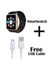 Hamee Reflex SmartWatch With Free Micro USB Fast Charging Cable (821-smart019-11)