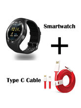 Hamee Ambitech Smartwatch With Free Type C Dash Charging Cable (821-smart019-42)