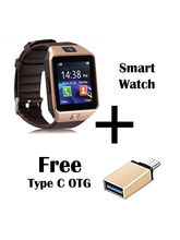 Hamee Wave Smartwatch With Free Type C OTG Cable (821-smart019-53)