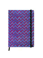 Hamee Premium Leather Hardbound Cover Classic Notebook (Aas-Planner550), purple