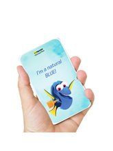Hamee Disney Pixar Licensed Finding Dory 10000 mAh PowerBank (Dory / Blue), multicolor