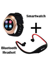 Hamee Chromtech With Free Bluetooth Wireless Headphone With Mic Sports Edition (821-smart019-39)