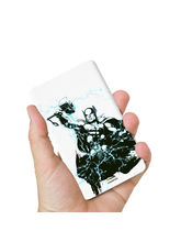 Hamee Marvel Licensed Avengers 8000 mAh Powerbank (Thor / Pose) (831-Power976), multicolor