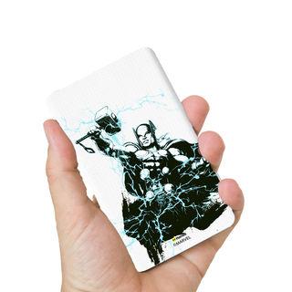 Hamee Marvel Licensed Avengers 8000 mAh Powerbank (Thor / Pose) (831-Power976), multicolor
