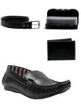AT Classic Combo Loafers-Black, 10