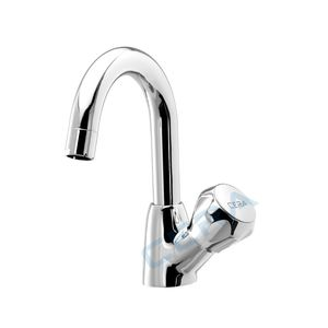 CERA OCEAN SERIES - F3001105 SWAN NECK tap with round SPOUT (Right)