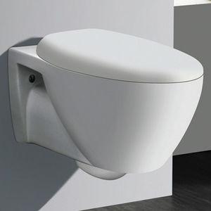 AQUANT WALL HUNG TOILETS - 1549 WITH PVC SEAT COVER,  ivory