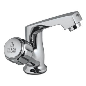 ESSCO DELUX FULL TURN - DLX-510A SWAN NECK TAP WITH RIGHT HAND OPERATING KNOB WITH AERATOR