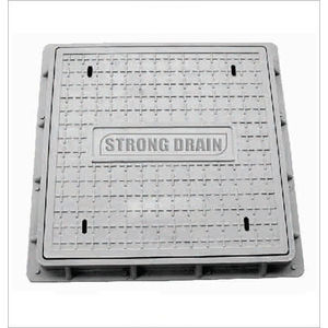 HP SQUARE MANHOLE COVER - CLEAR OPENING 1000MM X 1000MM, 40 tonn