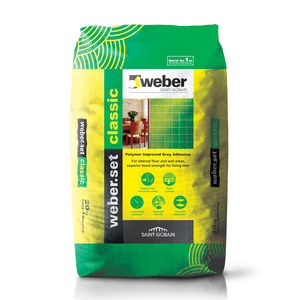 WEBER. SET CLASSIC - TILE ADHESIVES (GREY) (20KG)
