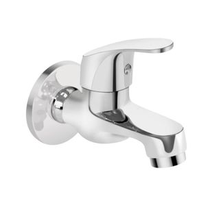 KEROVIT EDGE SERIES - KB1211004CP BIB TAP WITH FLANGE