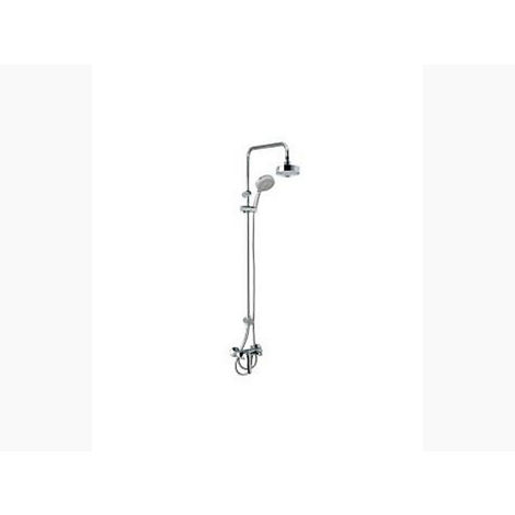 KOHLER SHOWERHEADS SERIES - K-72704IN-4-CP ODEON WALL MOUNT WITH STRAIGHT SHOWER COLUMN