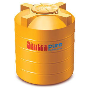 SINTEX PURE ANTI BACTERIA TANK TRIPLE LAYER, 750 ltr, yellow