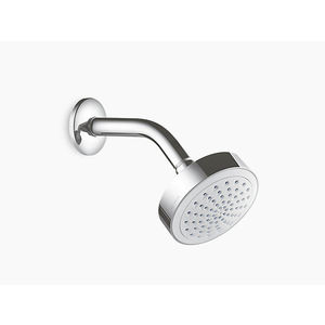 KOHLER SHOWERHEADS SERIES - K-45429IN-CP GEOMETRIC SHOWERHEAD WITH SHOWER ARM