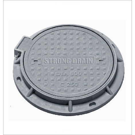HP CIRCULAR MANHOLE COVER - CLEAR OPENING 530MM, 2.5 tonn