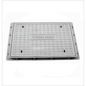 HP RECTANGULAR MANHOLE COVER - CLEAR OPENING 900MM X 600MM, 5 tonn