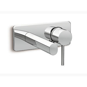 KOHLER CUFF SERIES - K-5682IN4NDCP SINGLE CONTROL WALL MOUNT FAUCET TRIM