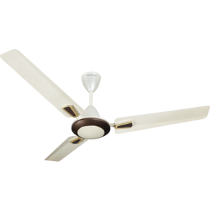 HAVELLS: DECORATIVE FANS VOGUE PLUS- 1200 MM SWEEP, ivory pearl brown