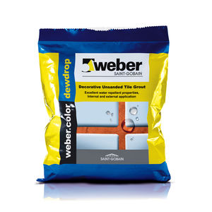 WEBER. COLOR DEWDROP - JOINT FILLERS (1KG), jet black