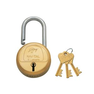 GODREJ PADLOCKS NAV-TAL: 6 Levers, 3 keys
