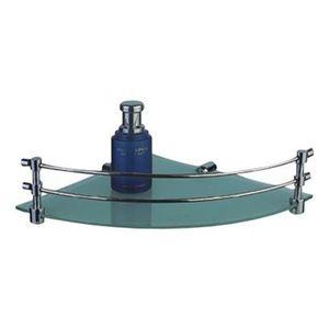JAQUAR BATH ACCESSORIES CONTINENTAL SERIES - ACN-1173N CORNER GLASS SHELF