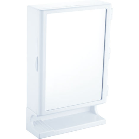 PEARL NEW MIRROR CABINET,  white