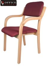 Office Trends Visitor Comfortable Chair (OT3045), red