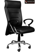 Office Trends Revolving Comfortable Chair (OT1019), black