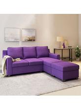 Alquiler Vilnius Purple 3 Seater Lounger