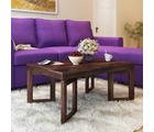 Alquiler Genoa Sheesham Wood Centre Table