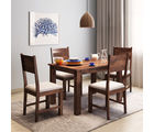 Alquiler Hove Sheesham wood Dining Table| 4 Seater