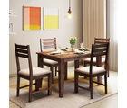 Alquiler Riga Sheesham wood Dining Table| 4 Seater
