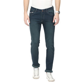 Stylox Green Shaded Jeans For Men, 34