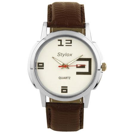 Stylox White Dial Stylish Watch(STX102)