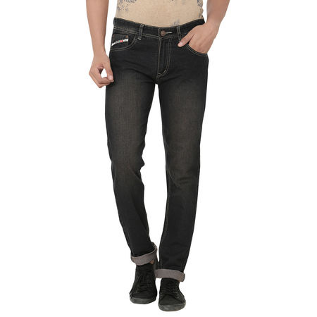 Stylox Black Tint Jeans For Men, 36