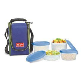 Full Meal 4 - Milton - Plastic - Lunch Box