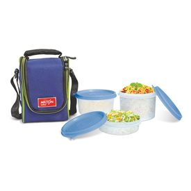 Full Meal 3 - Milton - Plastic - Lunch Box