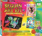 Art & Craft Toys Sequin Art Craft Kits for Kids
