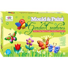 Mould & Paint Garden Printing Kit Toys For Kids