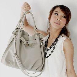 Fashion handbag, Gray