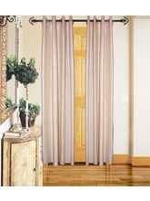 Angiela Home Fab Solid Crush Quality Multicolor Door Curtains-2 Piece (Angiela0004-7 Feet)