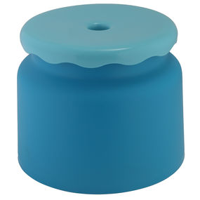 Frosty Bathroom Stool,  blue
