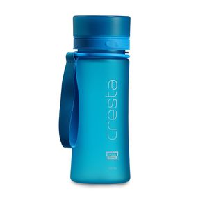 Cresta Soft Touch Travel Unbreakable PC Water Bottle, 500 ml,  blue